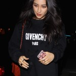 Shay Mitchell looks gorgeous in Givenchy at Jessica Alba's DL1961 launch
